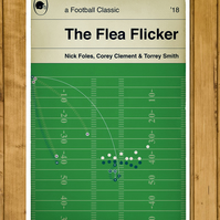 "Philadelphia Eagles - The Flea Flicker - Foles to Smith - Poster (11x17""or A3)"