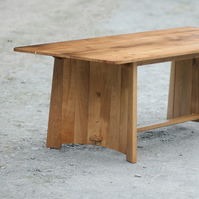 "8 seater Oak ""Coopered"" Dining Table"