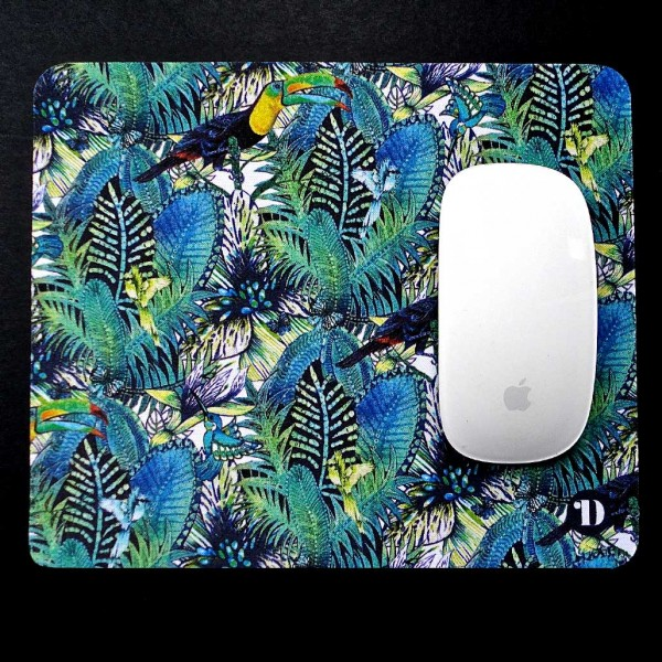 Tropical Forest and Toucan Mouse Mat
