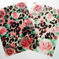 Two Pink Skin Heaven Plastic Placemats