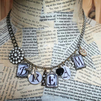 Dream Vintage Charm Statement Necklace