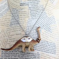 Statement Dinosaur Diplodocus Party Animal Necklace