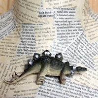 Statement Dinosaur Stegosaurus Party Animal Necklace