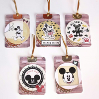 SALE Disney Mickey Mouse Tag Set