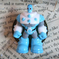 Toy Figure Batman Mr Freeze Character Statement Brooch