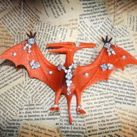 Giant Pterodactyl Statement Fun Quirky Necklace