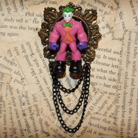 Joker Batman Villain Character Statement Brooch
