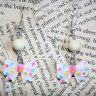 Resin Bows Stars Kitsch Gumball Earrings