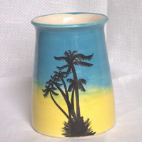 Beach Vase - Ceramic Vase - Pottery Vase - Seaside