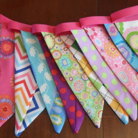 Bunting . beautiful bunting for parties, bedrooms or nurserys