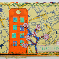 Eco-Friendly Vintage London Postcard, One-Of-A-Kind