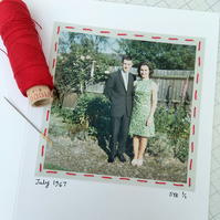 Golden Wedding Anniversary Card, One Of A Kind