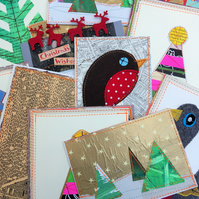 5 Lucky Dip Christmas Postcards