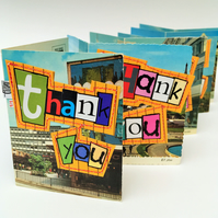 Pack of 3 Ethical Cards - Thank You, New Home and Floral