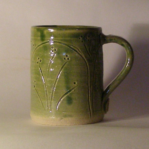 Tea or Coffee Mug - Hand Thrown Ceramic Pottery