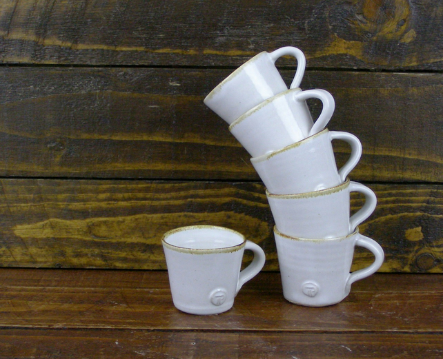 Pair of Espresso Cups - Hand Thrown