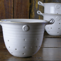 Colander - Hand Thrown Ceramic Pottery