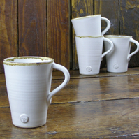 Latte Cups - Hand Thrown Pottery