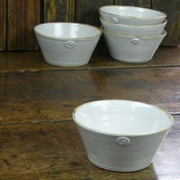 Cereal Bowls - Hand Thrown Pottery