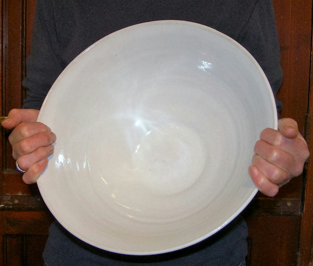 Very Large Bowl - Hand Thrown Ceramics