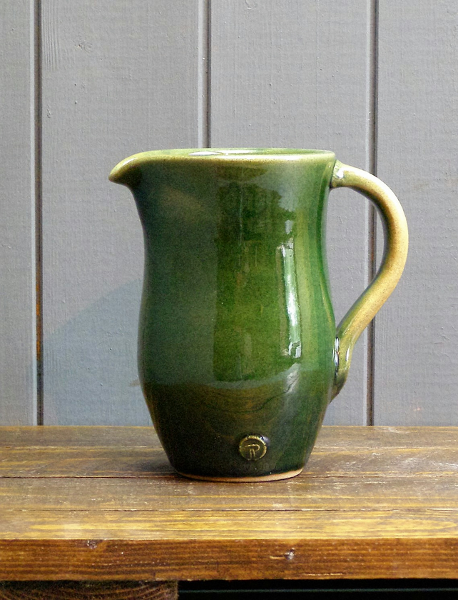 SALE   Two Pint Jug - Hand Thrown Pottery