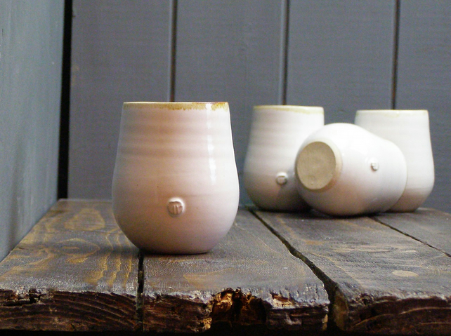 Wine Cups - Hand Thrown Pottery
