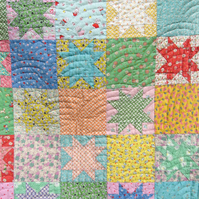 "Custom made ""Miss Pearl"" hand sewn baby quilt"