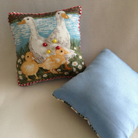 Farmyard animals pin cushion