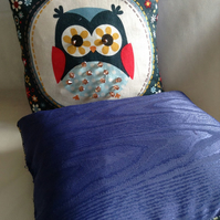 Pretty little owl cushion