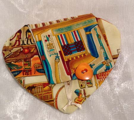 Egyptian pattern coin purse