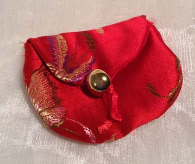Little Chinese silk coin purse