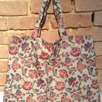 Floral Tapestry TOTE