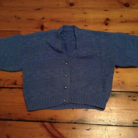 Little blue cardigan