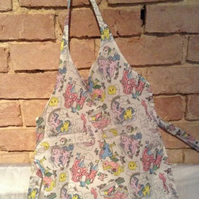 Cotton Print Kids Apron