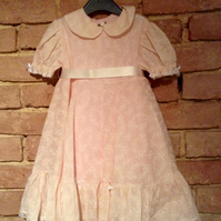 'Pretty in Pink' little girl's dress