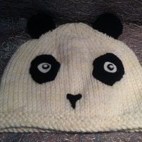Cute Knitted Panda Hat