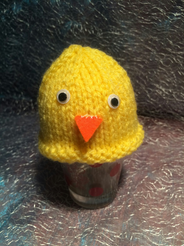 Little  Knitted Chick Egg Cosy