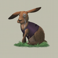 'March Hare' limited edition signed print