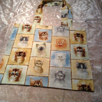 Kitten face TOTE bag