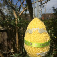 Little Decorative Knitted Egg