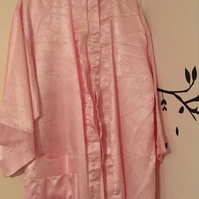 Beautiful satin oriental dressing gown
