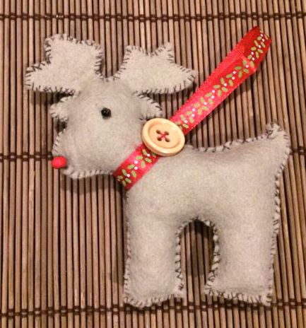 Little Ratty Reindeer decoration