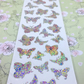 Inspirations Bright Butterfly peel off stickers