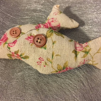 2 Little Cotton Cat Nip Toy fishes
