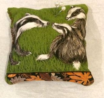 Wildlife pin cushion