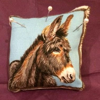 Farmyard animal pin cushion