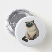 Himalayan Cat Badge