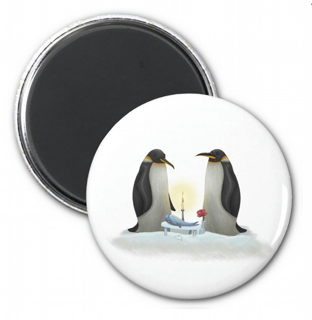 Penguins Magnet