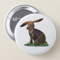 March Hare Badge