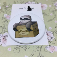 Sloth in a Box Magnet